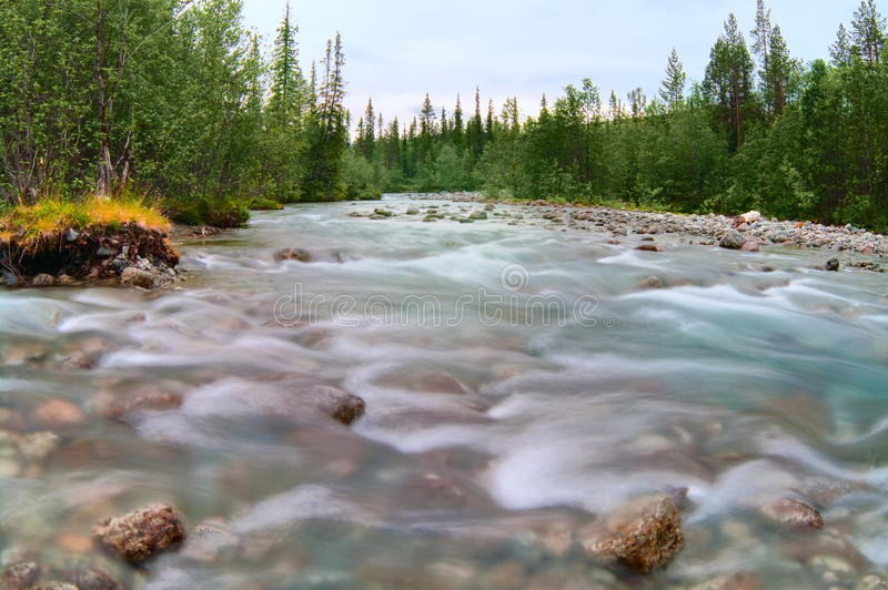 Download Rapid River Flow In Mountains Stock Photo - Image: 18616586