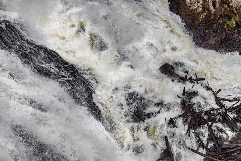 Rapide de cascade photos stock
