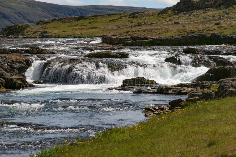 Rapide Islande images libres de droits