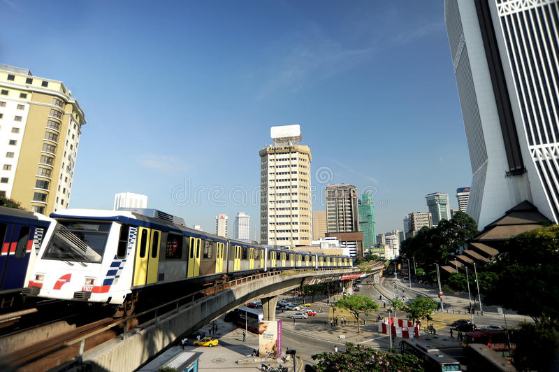 RapidKL Rail Kuala Lumpur royalty free stock photo
