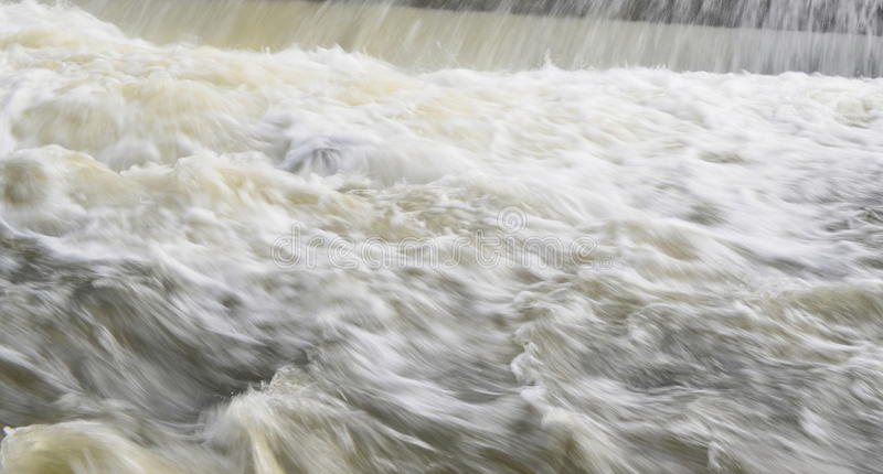 Download Rapidly Flowing Water On The Winter River Stock Image - Image of flow, liquid: 67553355