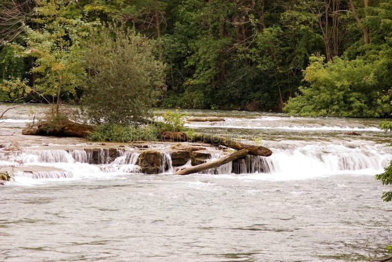 Rapids 5 Do Rio De Niagra Imagens de Stock