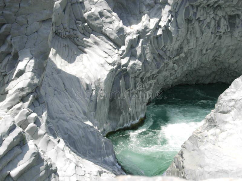 Rapids de Alcantara foto de archivo