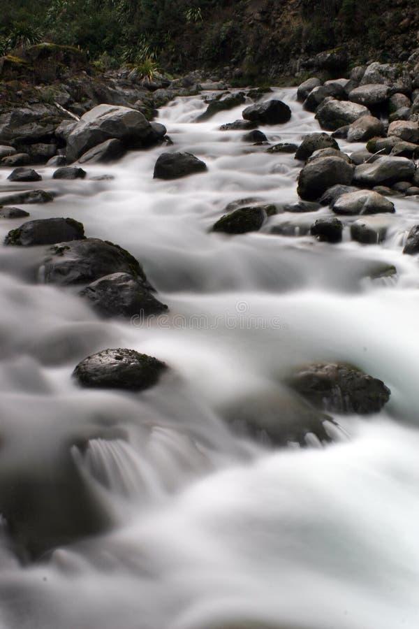 Rapids del agua blanca foto de archivo libre de regalías