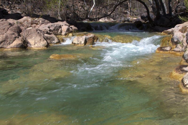 Rapids del río imagenes de archivo