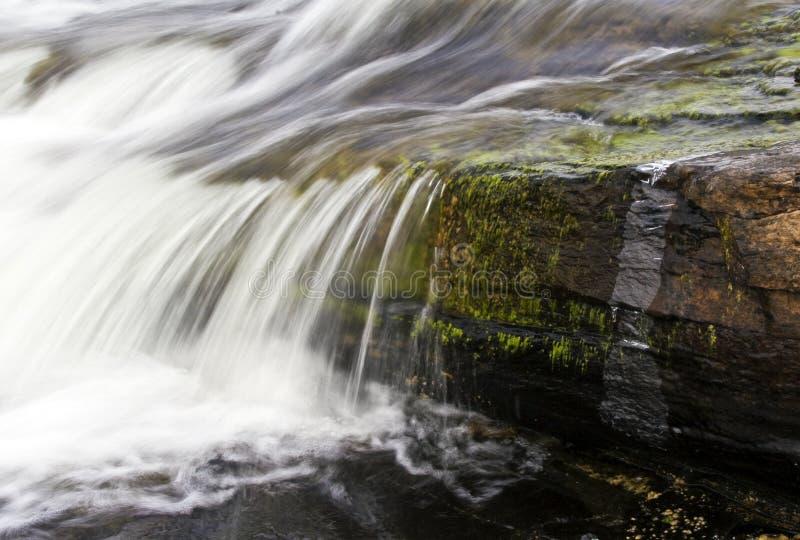 Rapids di inverno immagini stock