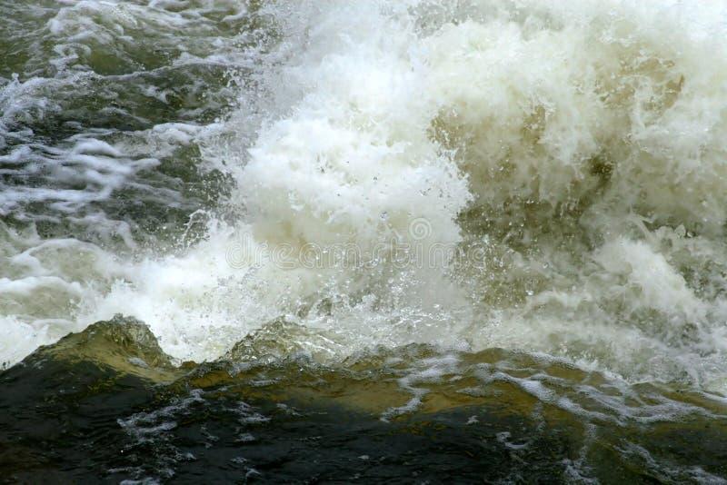 Rapids di Whitewater. fotografia stock libera da diritti