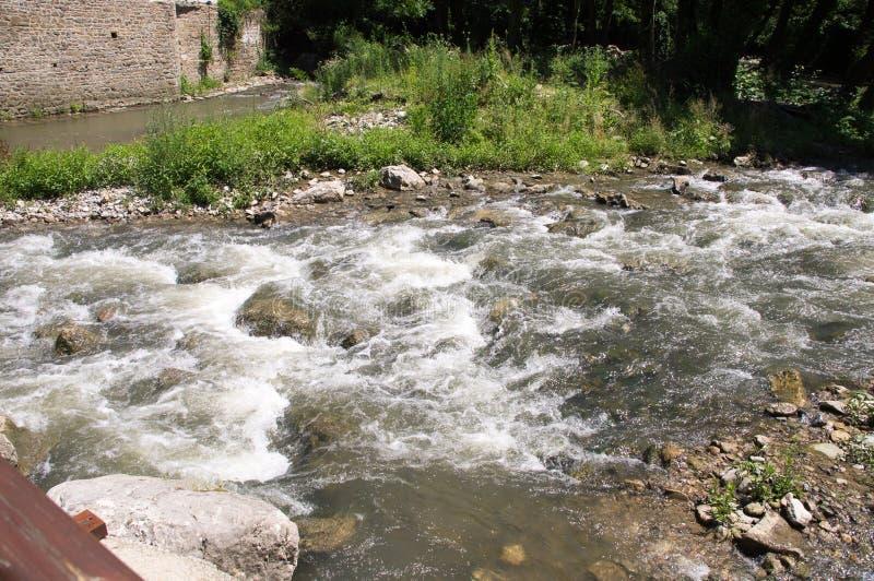Rapids Dryanovska river, Bulgaria stock photo