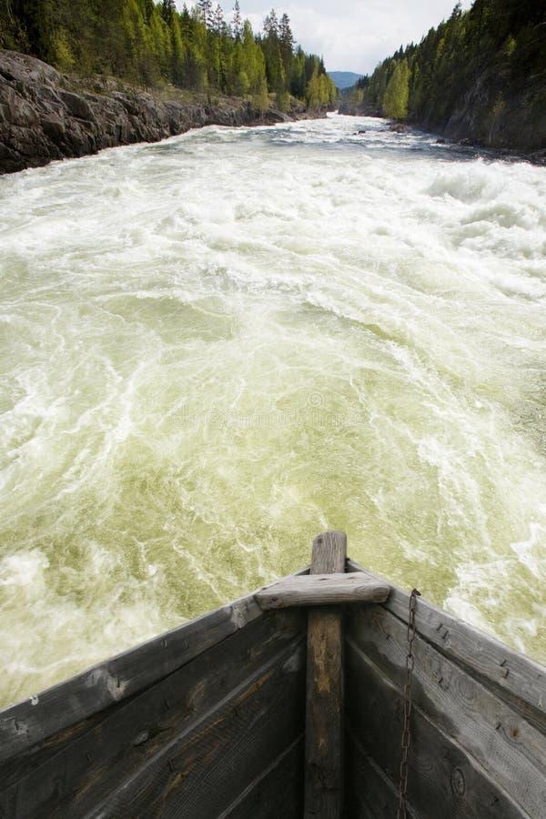 Rapids salvajes foto de archivo