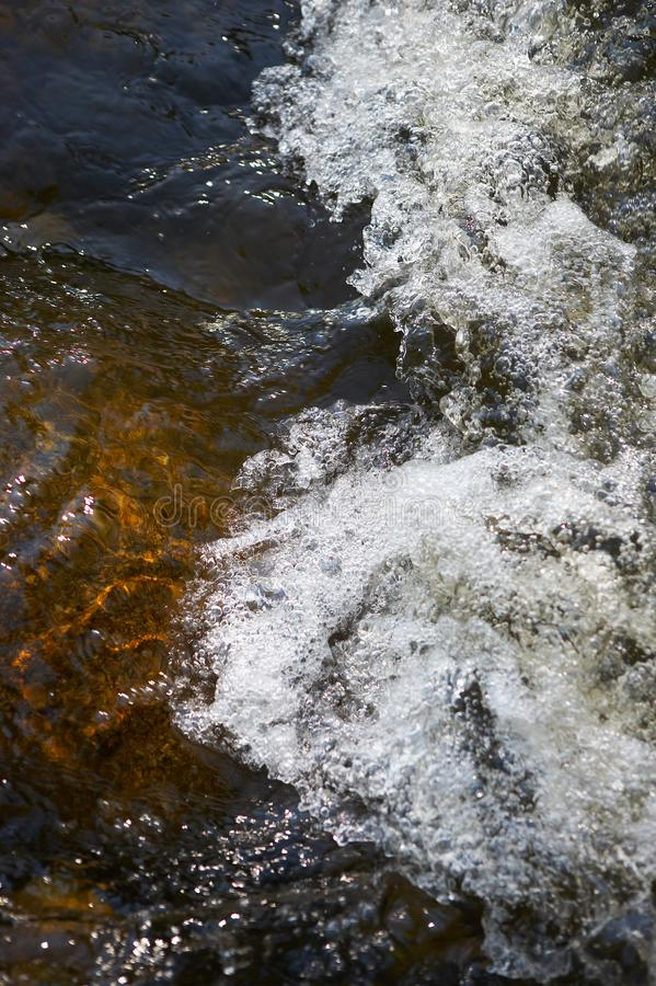 Download Rapids in a small creek stock image. Image of hydropower - 2864015