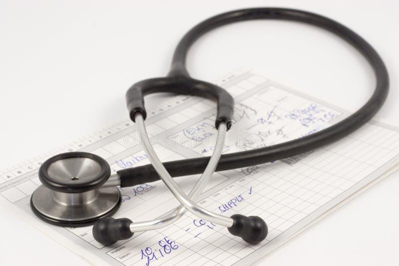 raport medyczny obraz royalty free