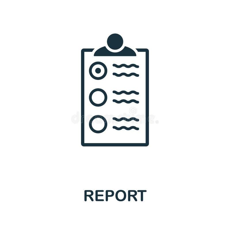 Raportowa ikona Kreatywnie elementu projekt od pożarniczego bezpieczeństwa ikon inkasowych Piksel doskonalić Raportowa ikona dla  ilustracji