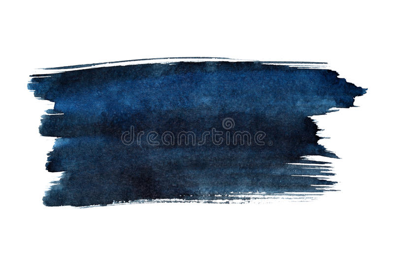 Rappe bleue de balai illustration stock