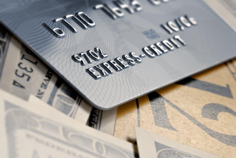 Rappel sur des paiements sous des crédits images stock