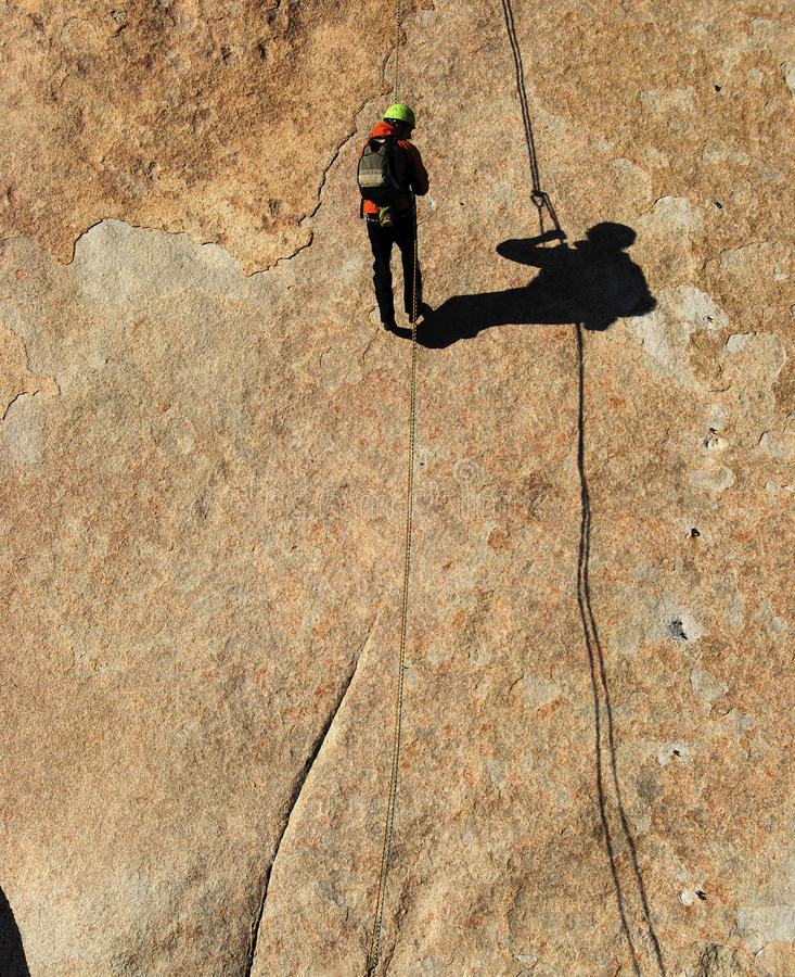 Download Rappelling stock image. Image of extreme, heights, adventure - 18960911