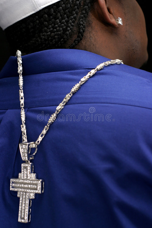 Rapper. Pray and sing royalty free stock image