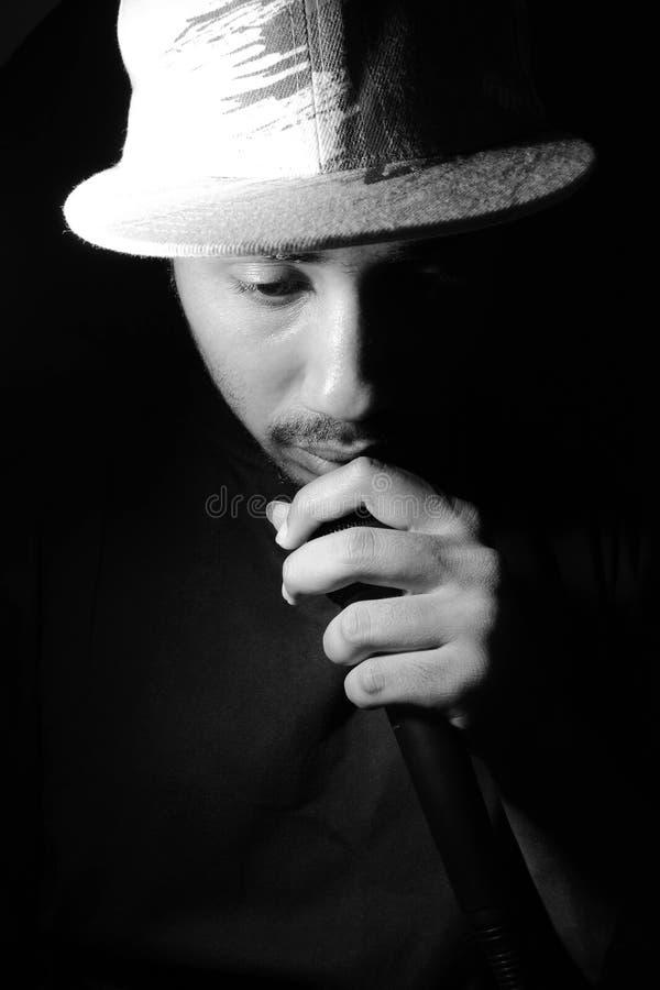 rapper fotografia de stock