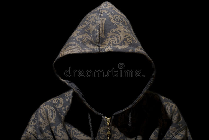 Rapper misterioso fotos de stock