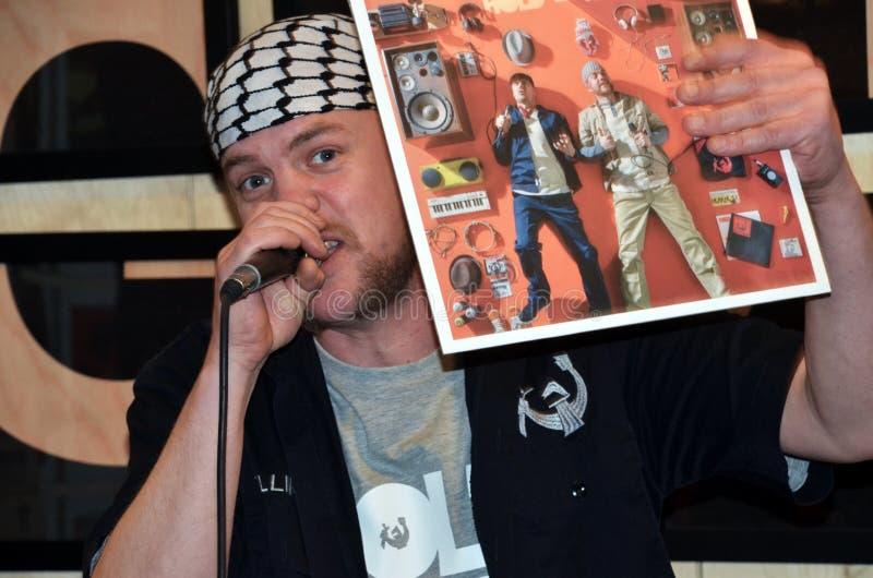 Rapper norvegese Elling Borgersrud fotografie stock