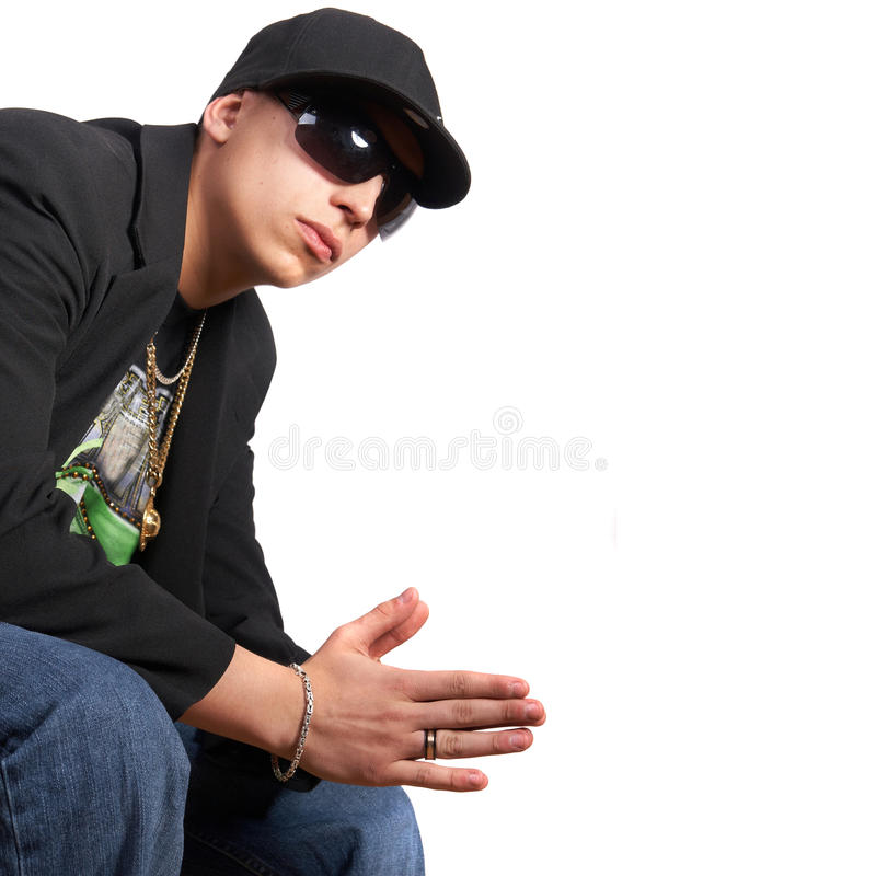 Rapper novo fotografia de stock royalty free