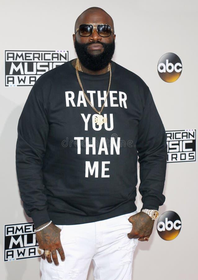 Rapper Rick Ross fotografia stock libera da diritti