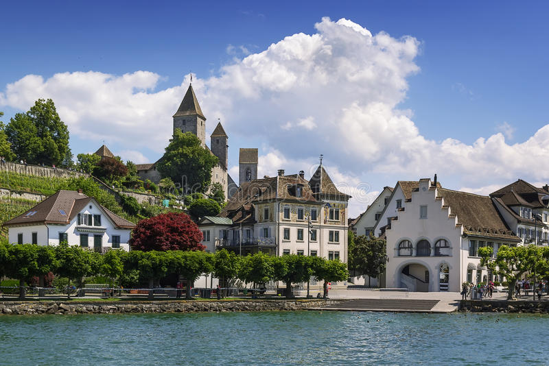 Rapperswil, die Schweiz stockfoto