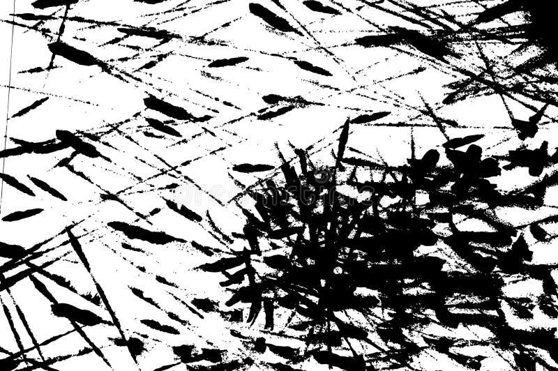 Rappes grunges d'encre illustration libre de droits
