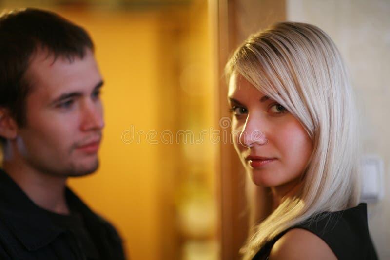 Rapport de couples photographie stock libre de droits