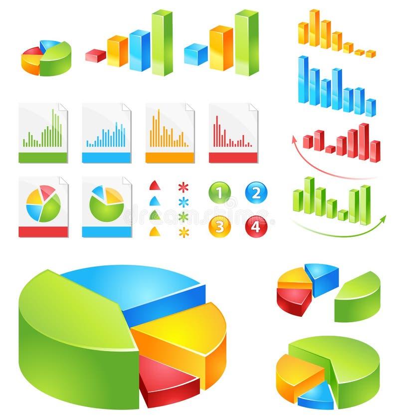 rapporter ställde in vektorn stock illustrationer