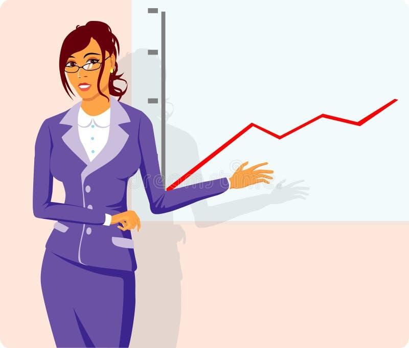 Rapporto illustrazione di stock