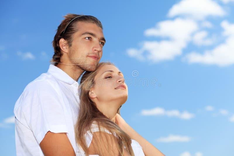 Rapports romantiques image stock