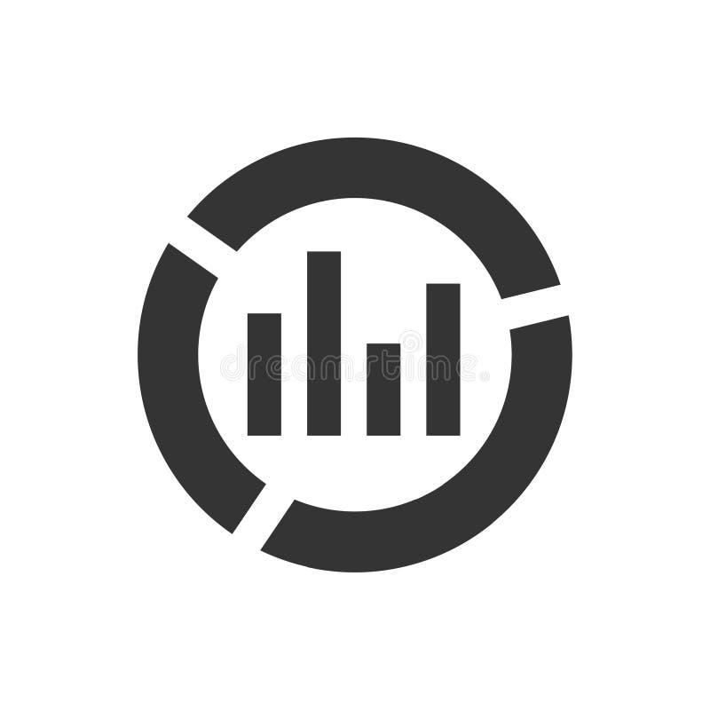 Rapportsymbol vektor illustrationer
