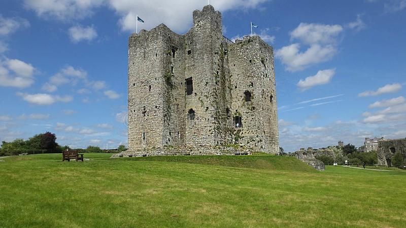 Rappresentante di Meath della contea del castello della disposizione dell'Irlanda fotografia stock libera da diritti