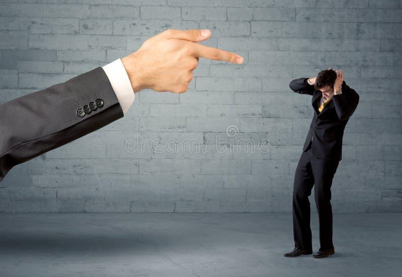 Rappresentante non professionale che è infornato fotografia stock libera da diritti