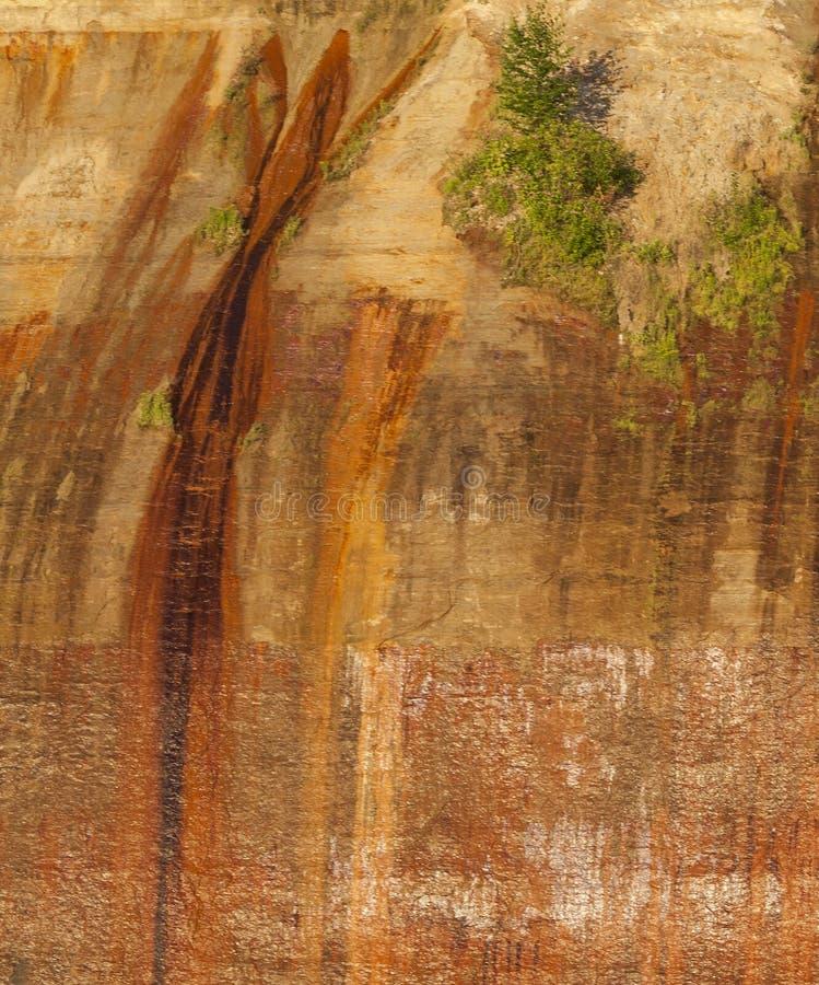 Rappresentare-rocce fotografia stock