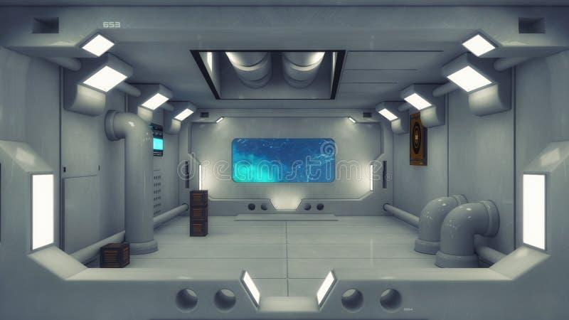 Rappresentazione 3d architettura futuristica del fondo for Programmi architettura 3d