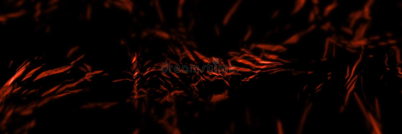 rappresentazione 3D dell'elemento astratto del ghiaccio e del fuoco contro di contro a vicenda fondo Le forme geometriche del pol royalty illustrazione gratis