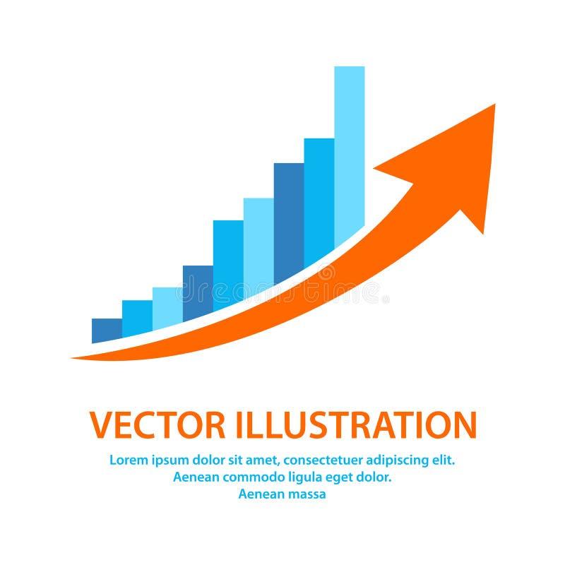 Rappresenti graficamente l'icona nello stile piano d'avanguardia isolata su fondo grigio Simbolo per la vostra progettazione del  royalty illustrazione gratis