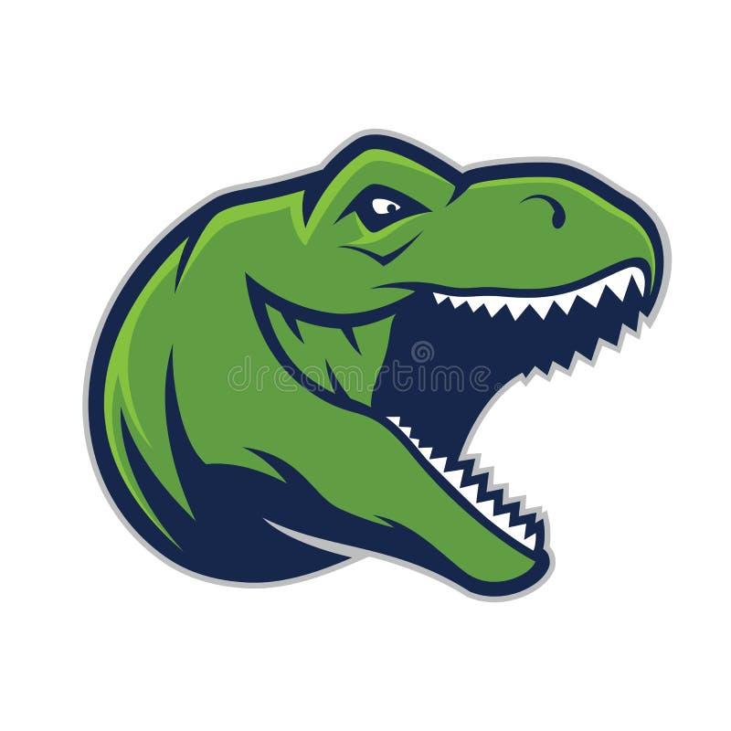 Free Raptor Head Mascot Stock Image - 95119121