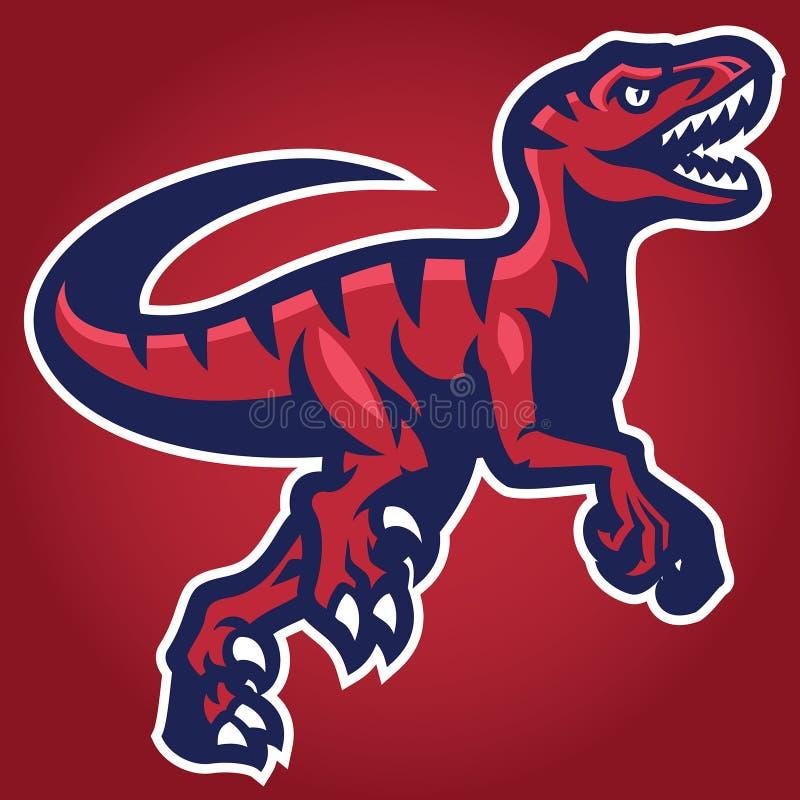 Free Raptor Mascot Royalty Free Stock Images - 103105549