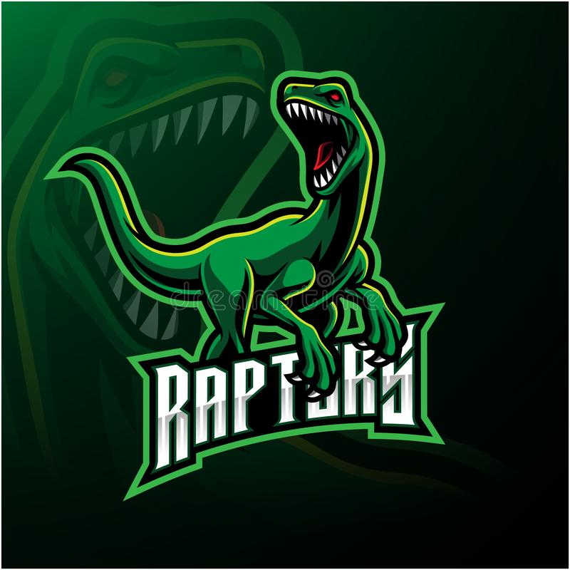 Free Raptor Sport Mascot Logo Design Royalty Free Stock Photos - 154237578