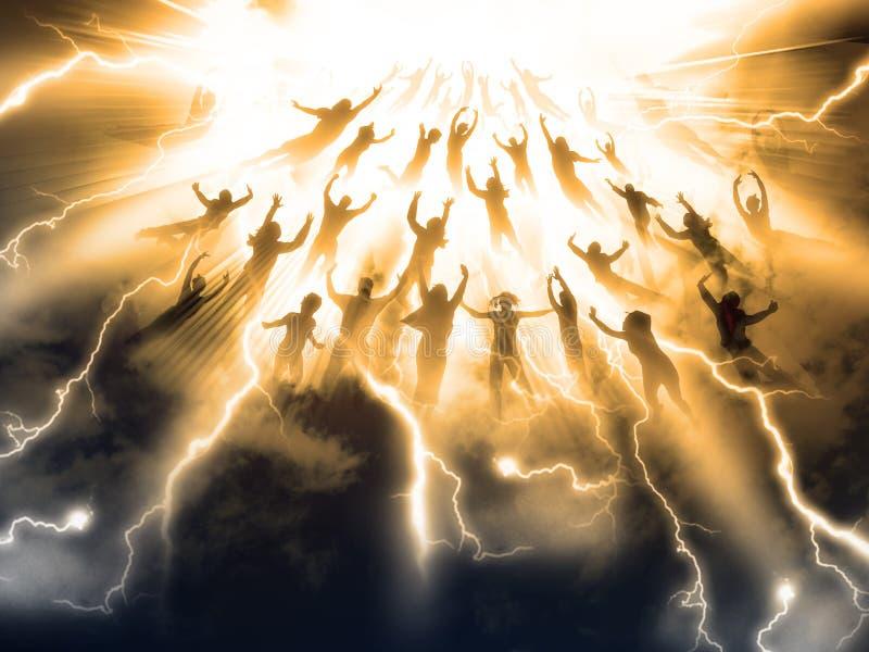 The Rapture royalty free illustration