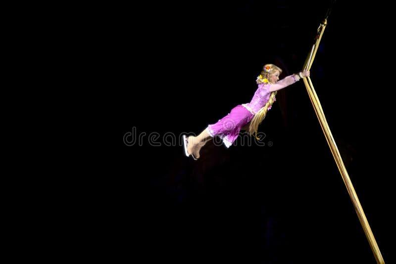 Rapunzel Tanzt In Disney Auf Eis Redaktionelles Foto