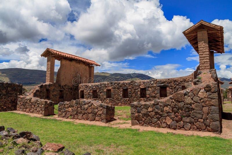 Raqchi, Περού στοκ φωτογραφία με δικαίωμα ελεύθερης χρήσης