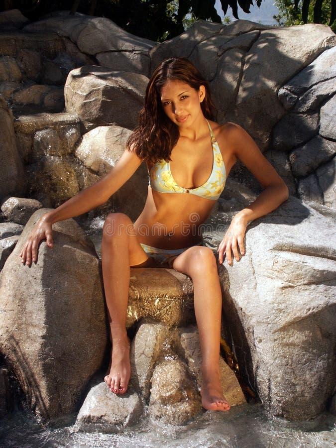 Raquel-Bikini 14 Lizenzfreies Stockfoto