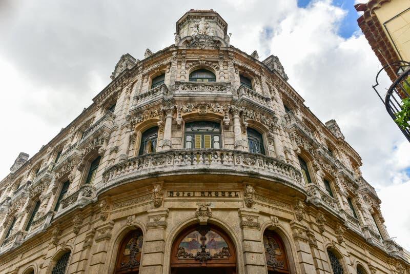 Raquel Hotel - Havana, Cuba imagem de stock