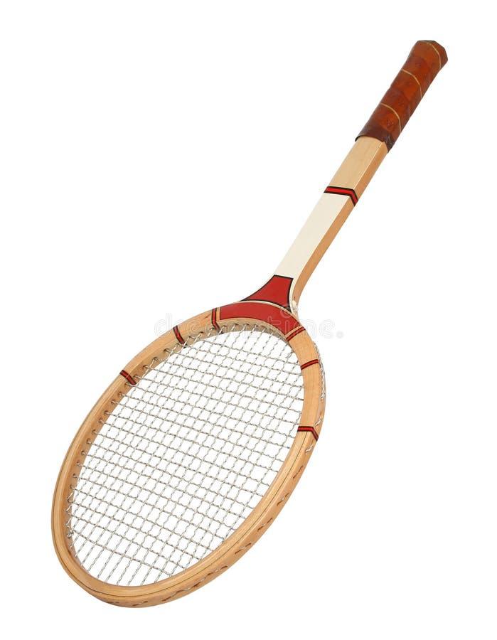 raquet网球葡萄酒 免版税库存图片