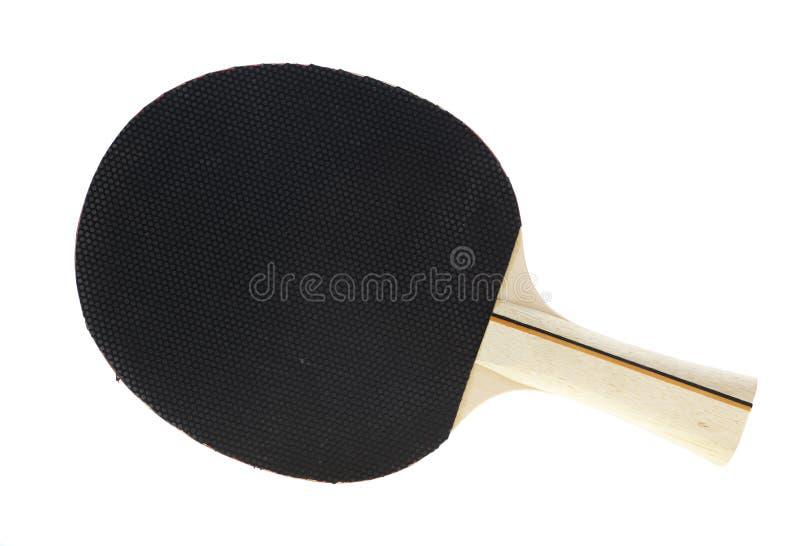 Raquete de tênis de mesa imagem de stock royalty free