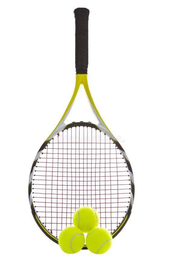 Raquete de tênis moderna imagens de stock royalty free