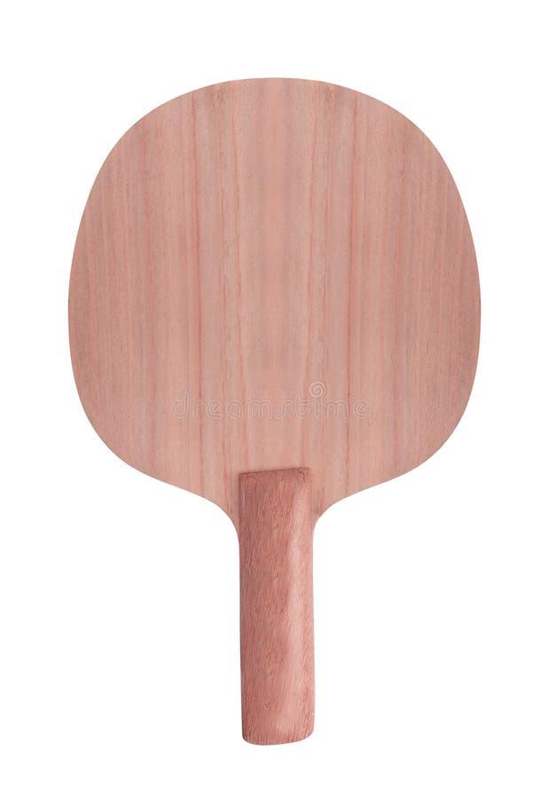 Raquette de tennis D'isolement photographie stock